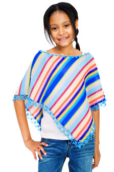 Strickanleitung Kinderponcho